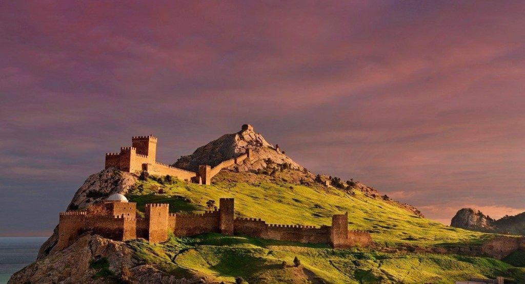гора Крепостная горы Судака