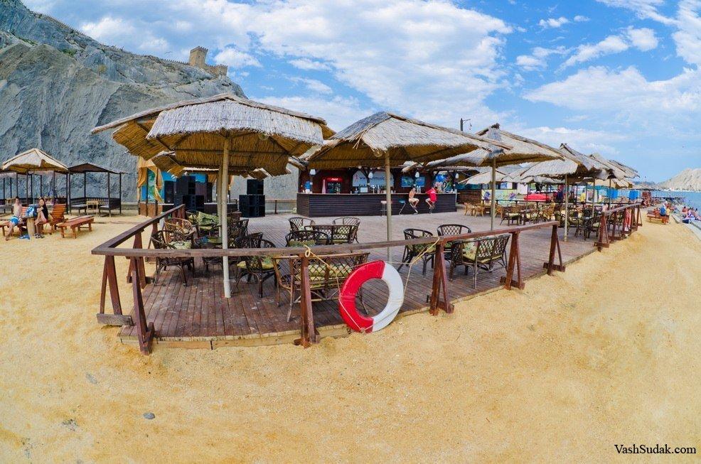 пляж в Судаке Махито